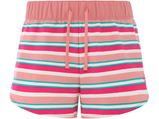 The North Face Class V Mini short Femme, mr.pink creek side stripe print